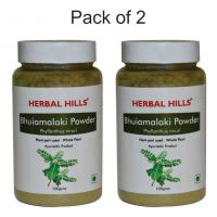 Herbal Hills Bhuiamlaki Powder - 100 gms - Pack of 2